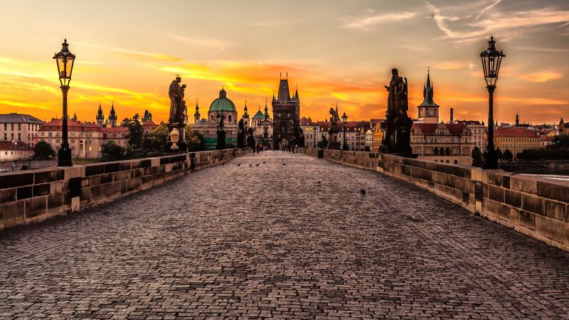Mystic Prague Tour, Czech Republic, Tourism, Travel (horizontal)