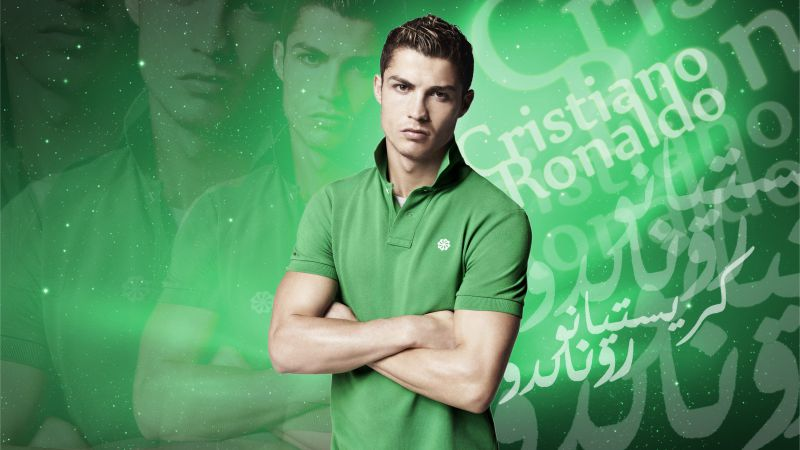 Football, Cristiano Ronaldo, soccer, FIFA, The best players 2015, Real Madrid, footballer (horizontal)