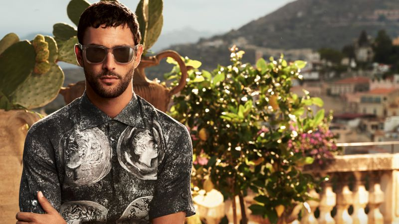 Noah Mills, Top Fashion Male Models, model, actor (horizontal)
