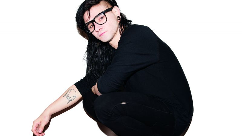 Skrillex, Top music artist and bands, musician (horizontal)