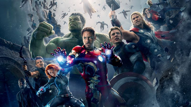 Avengers: Age of Ultron, Best Movies of 2015, Avengers 2 (horizontal)