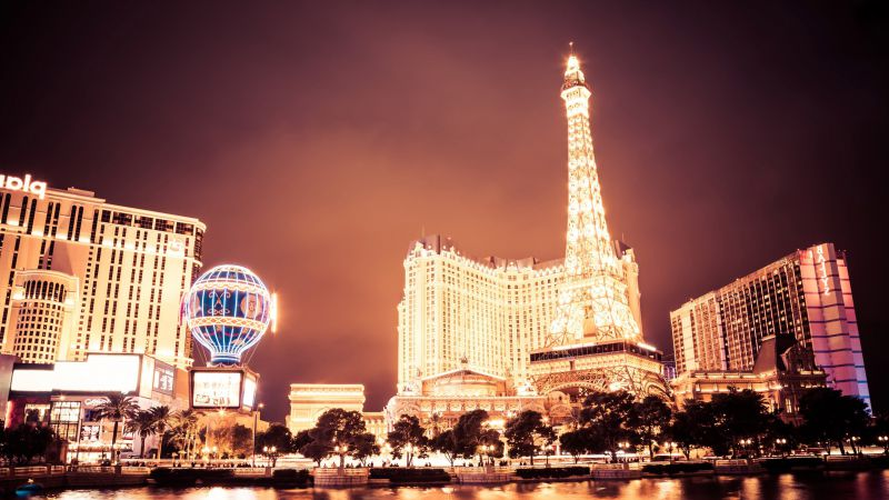 Las Vegas, USA, night, travel, tourism (horizontal)