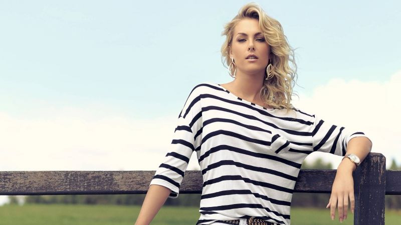 Ana Hickmann, Top Fashion Models, model, blonde (horizontal)