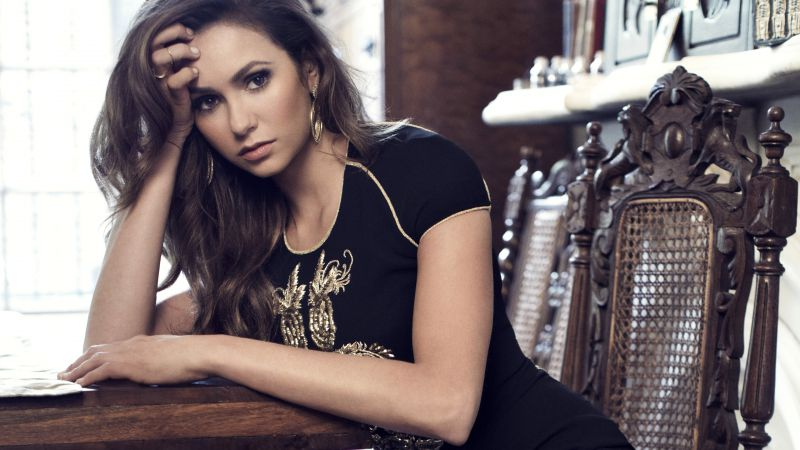 Nina Dobrev, Most Popular Celebs, Actress, television star, brunette, model (horizontal)