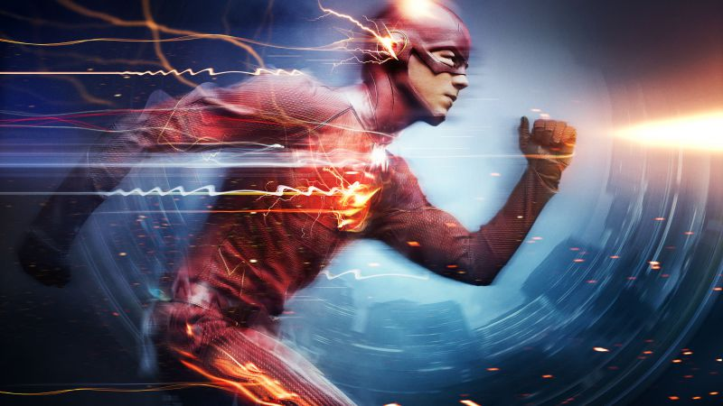 The Flash, Best TV Series of 2015, Grant Gustin (horizontal)