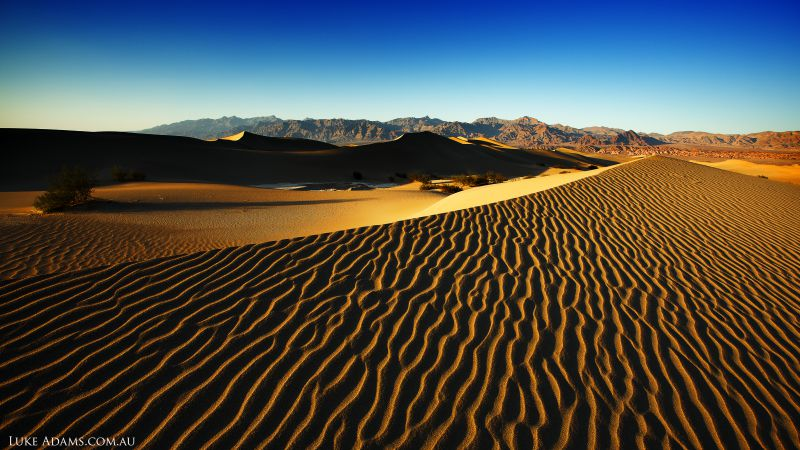 Death Valley, 4k, 5k wallpaper, 8k, USA, Desert, Dunes, sand (horizontal)