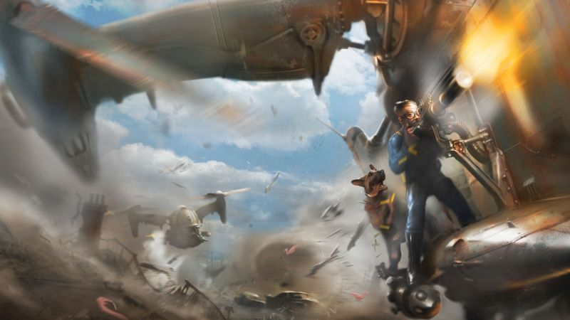 Fallout 4, Best Games 2015, game, shooter, PC, PS4, Xbox One, review, screenshot, concept art (horizontal)