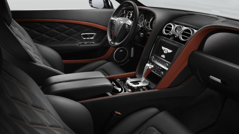 bentley continental gt speed, coupe, luxery, interior (horizontal)