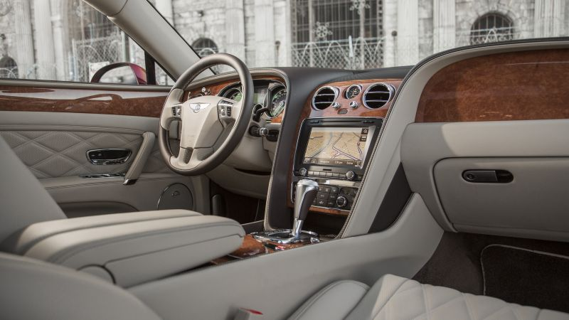 Bentley Flying Spur, sedan, luxery, interior. (horizontal)