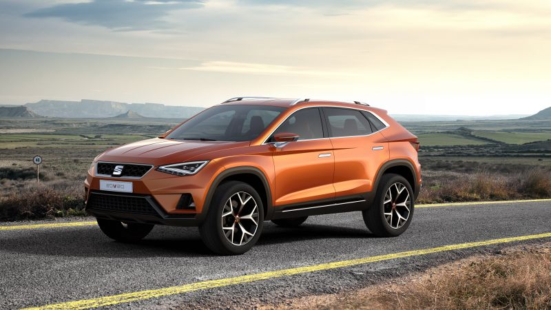 SEAT 20V20, concept, crossover, orange. (horizontal)