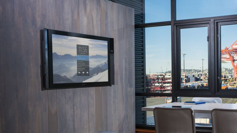 Microsoft Surface Hub, windows, monoblock PC (horizontal)