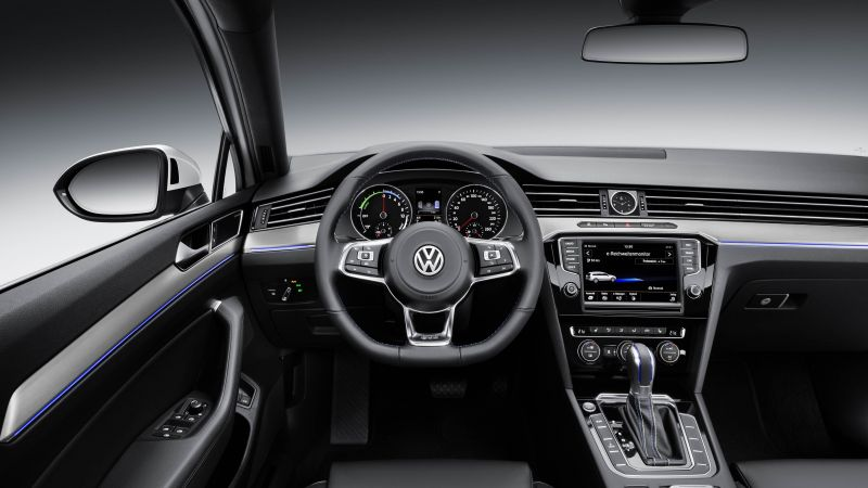 Cross Coupe GTE, Volkswagen, coupe, hybrid, interior. (horizontal)
