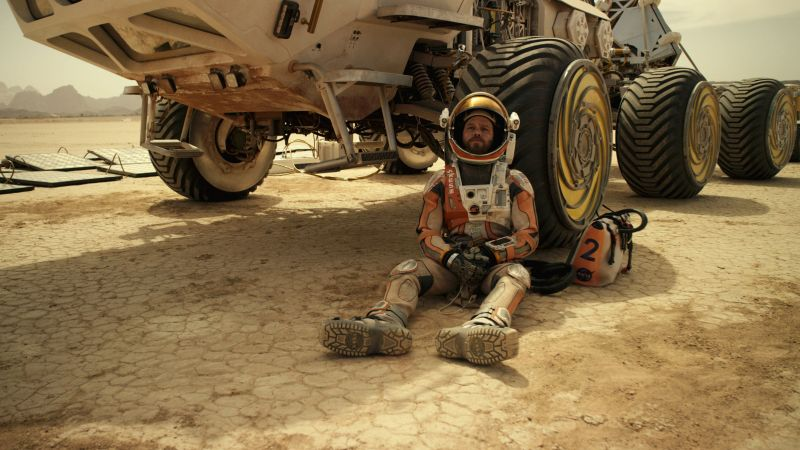 The Martian, Best Movies of 2015, movie, Matt Damon (horizontal)