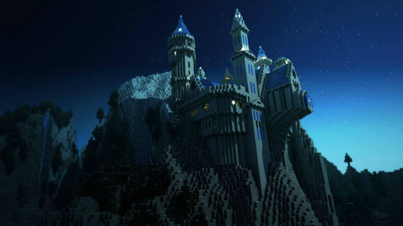 Minecraft, Best Games 2015, game, arcade, fairy tale, castle (horizontal)