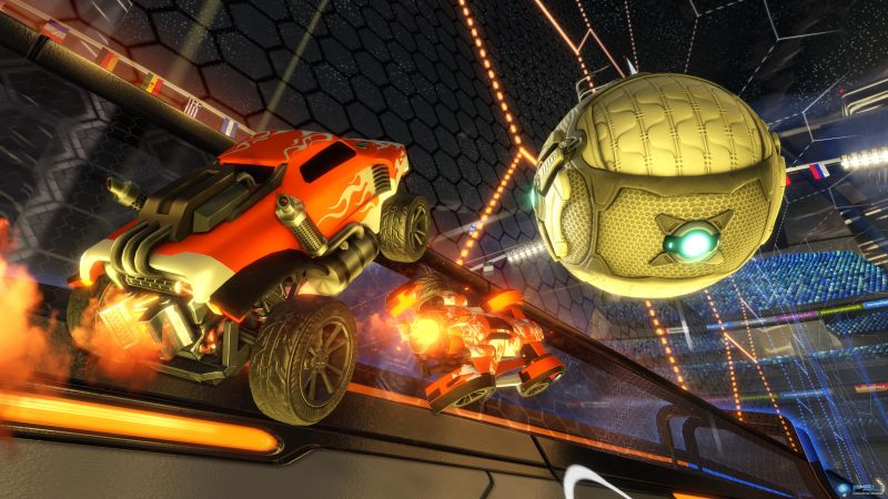 Rocket League, Best Games 2015, game, arcade, PC (horizontal)