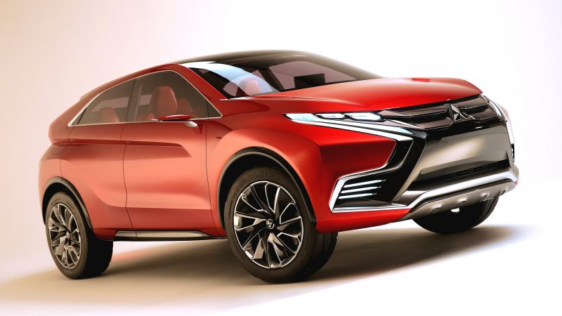 Mitsubishi ASX Evolution, hybrid, crossover, review (horizontal)