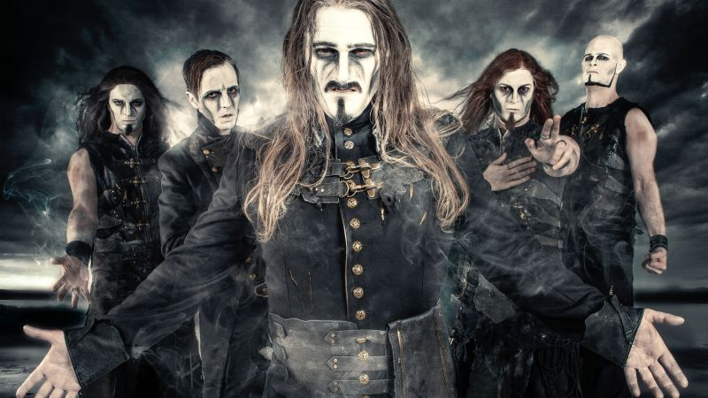 Powerwolf, Top music artist and bands, Attila Dorn, Matthew Greywolf, Charles Greywolf, Roel Van Helden, Falk Maria Schlegel (horizontal)