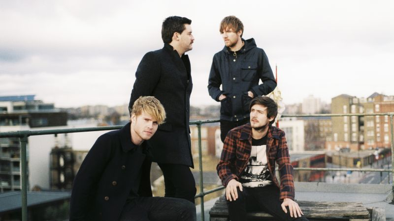 Kodaline, Top music artist and bands, Steve Garrigan, Vinny May, Jason Boland, Mark Prendergast (horizontal)
