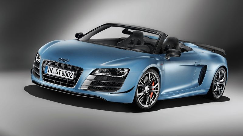 Audi R8 GT Spyder, supercar, cabriolet, buy, rent, review (horizontal)