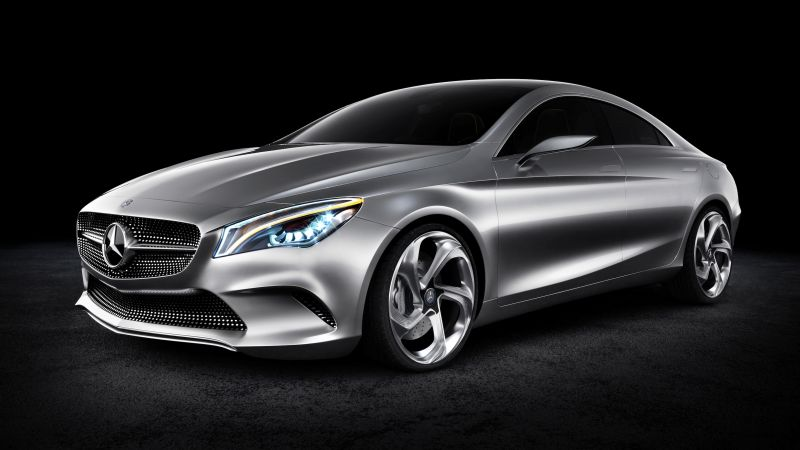 Mercedes-Benz Concept Coupe, coupe, review, buy, rent (horizontal)