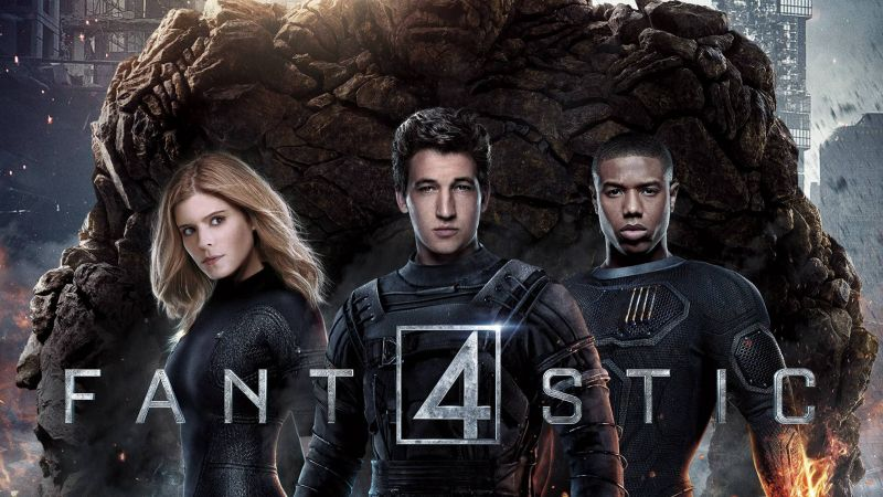 Fantastic Four, Best Movies of 2015, movie, Kate Mara, Miles Teller (horizontal)
