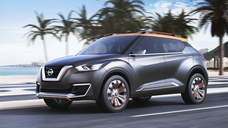 Nissan Kicks, crossover, SUV, review, rent, buy, test drive (horizontal)