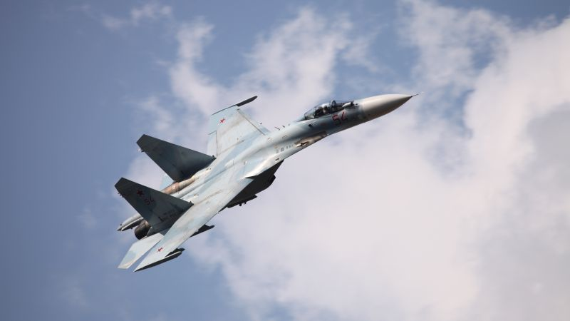 Su-27, fighter, Russian Army (horizontal)