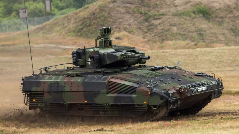 Puma, infantry fighting vehicle, German army (horizontal)