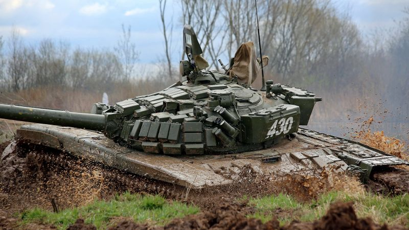 T-72B, tank, Russian Army (horizontal)