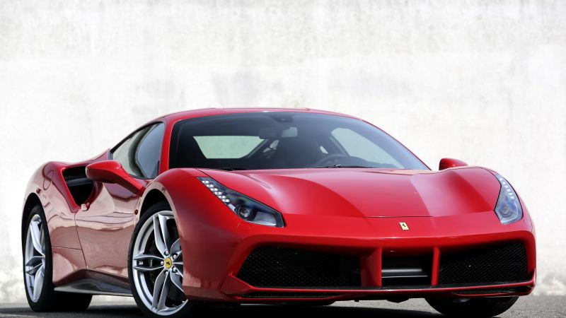 Ferrari 488 GTB, coupe, supercar, sport car, review, buy, rent (horizontal)