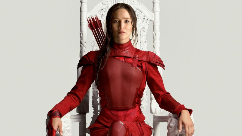 The Hunger Games, Mockingjay - Part 2, movie, Jennifer Lawrence (horizontal)