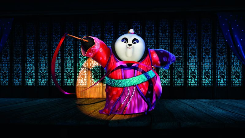 Kung Fu Panda 3, Best Animation Movies of 2015, cartoon (horizontal)