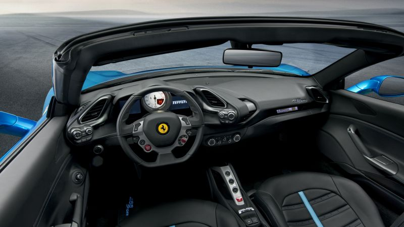 Ferrari 488 Spider, cabriolet, roadster, review, buy, rent (horizontal)
