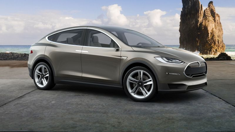 Tesla model x, electric cars, suv, 2016 (horizontal)
