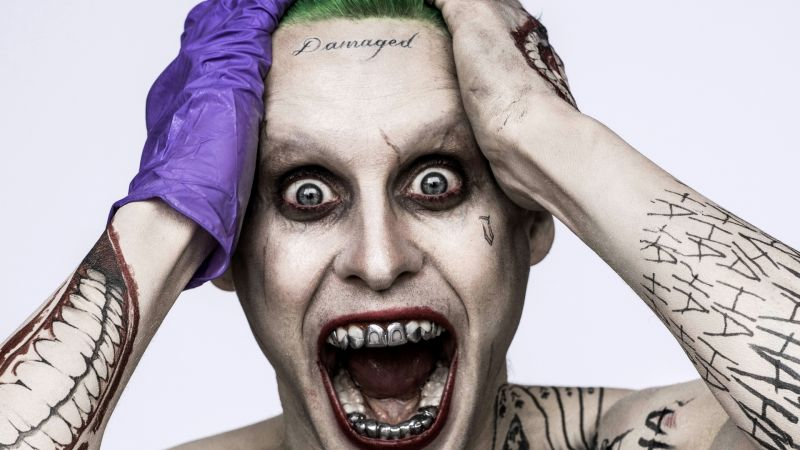 Suicide Squad: Jared Leto, Joker, Best Movie of 2016 (horizontal)