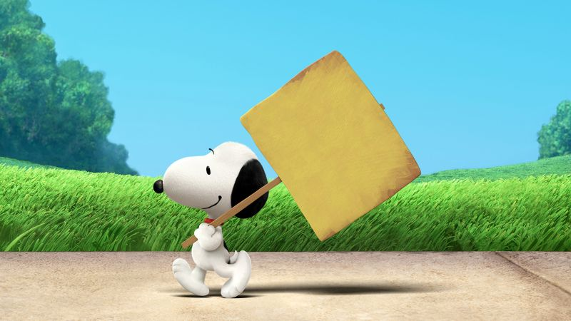 The Peanuts Movie, Snoopy (horizontal)