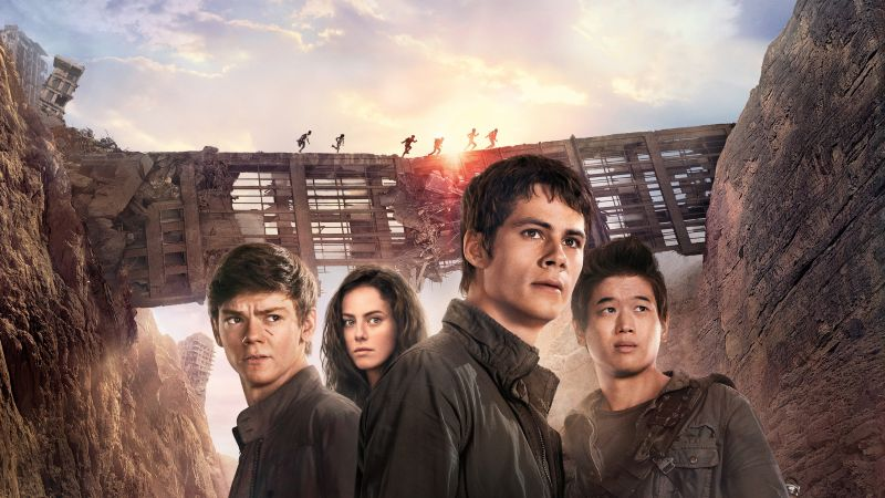 Maze Runner 2, The Scorch Trials, movie, Dylan O'Brien, action (horizontal)