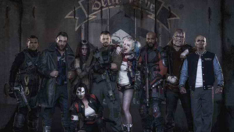 Suicide Squad, team, Best Movies of 2016 (horizontal)
