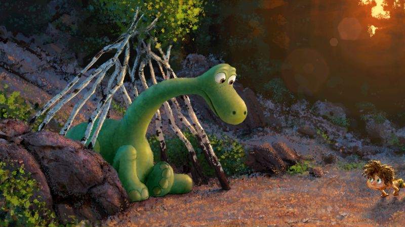 The Good Dinosaur, Brachiosaurus (horizontal)