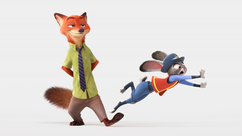 Zootopia, Best Animation Movies of 2016, cartoon (horizontal)