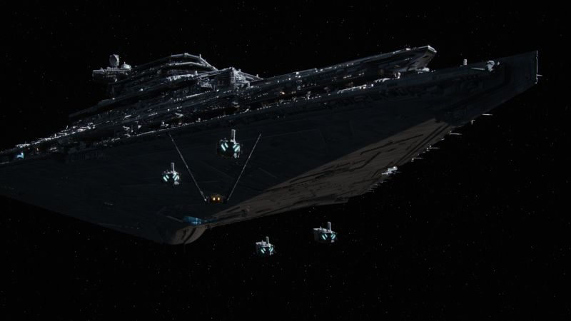 Star Wars: Episode VII - The Force Awakens, spaceship (horizontal)