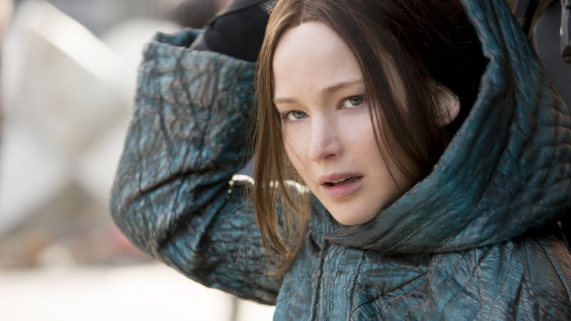 The Hunger Games, Mockingjay - Part 2, katniss, Jennifer Lawrence (horizontal)