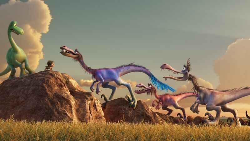 The Good Dinosaur, Dinosaurs (horizontal)