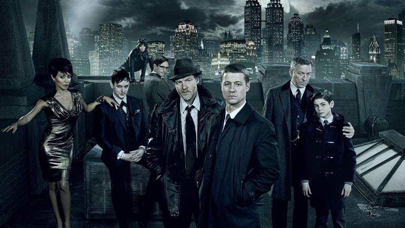 Gotham 2 season, Gotham, TV Series, crime (horizontal)