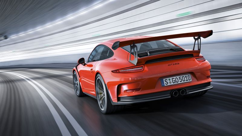 Porche 911 GT3, red (horizontal)