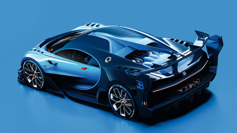 Bugatti Vision Gran Turismo, Bugatti, Grand Sport, sport car, Best cars of 2015 (horizontal)