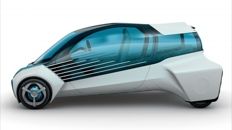 Toyota FCV Plus, concept, future cars (horizontal)