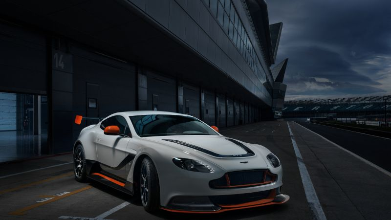 Aston Martin Vantage, sports car, V12, v8, test drive, speed (horizontal)
