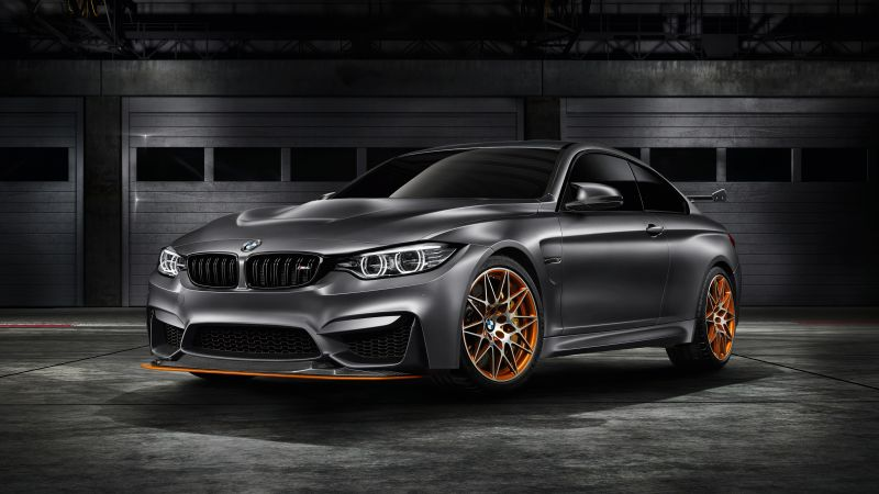 BMW M4 GTS, Concept car (horizontal)