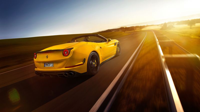 Ferrari California T, Novitec Rosso, yellow (horizontal)